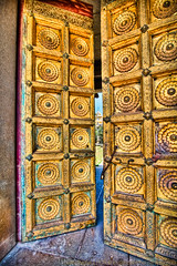Gold-Doors-Mysore-Palace-India