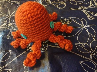 Easy octopus to crochet