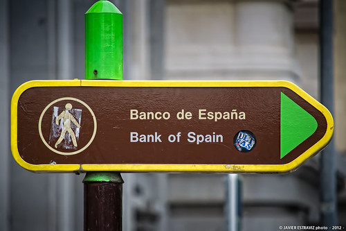 Bank of Spain by fotosterona, on Flickr