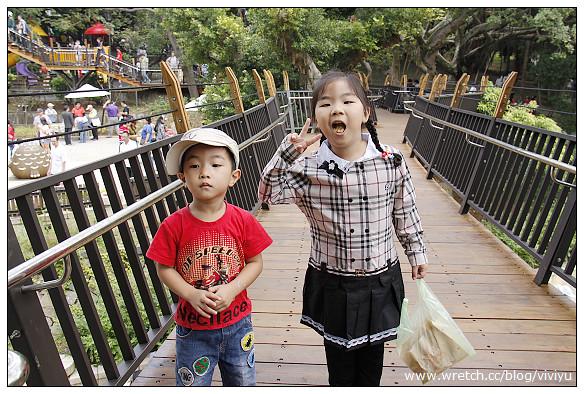 [桃園.旅遊]虎頭山兒童遊樂區~奧爾森林學堂.樹屋 @VIVIYU小世界
