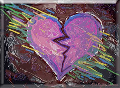 Broken Heart Chalk 2