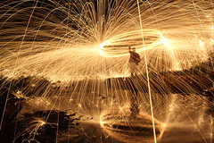 Steel Wool: Part 4 [EXPLORE] by compassrose_04, on Flickr