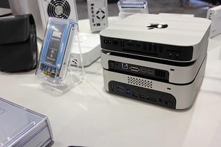 CES 2013 - OWC Mac mini external storage - min...