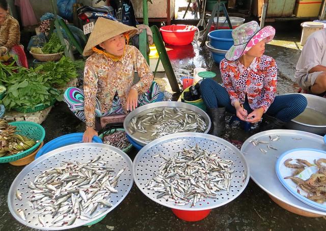Vietnam  Market, Sa Dec, Viet Nam