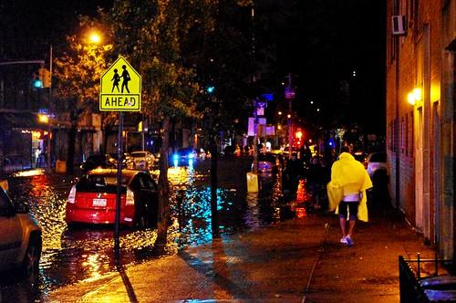 Hurricane Sandy Flooding East Village 2012