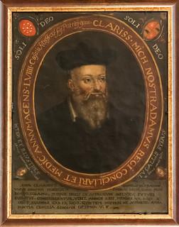 Portrait de Nostradamus , Musée Calvet, Avignon