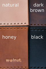 Leather Colors for Walnut Studiolo Products