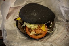 BK Squid Ink Burger