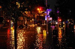 Hurricane Sandy Flooding Avenue C 2012
