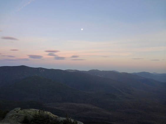 Pemigewasset Wilderness Sunset viewed from Mt. Garfield