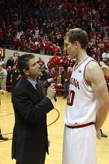 Andy Katz interview Cody Zeller post-game