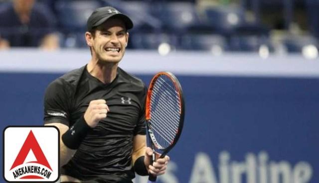 #Sports : Murray Melaju di US Open Bersama Empat Petenis Inggris Lain