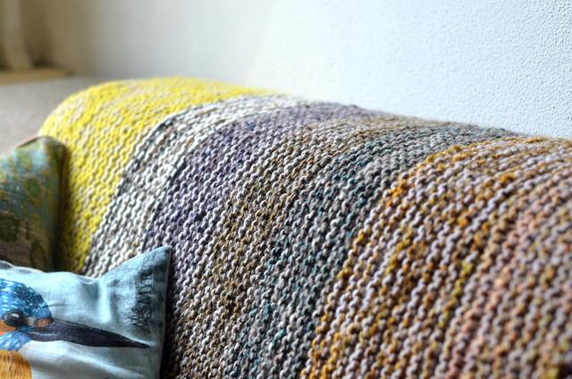 Garter Squish blanket
