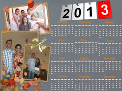 Picture Collage Maker 2013 Calendar