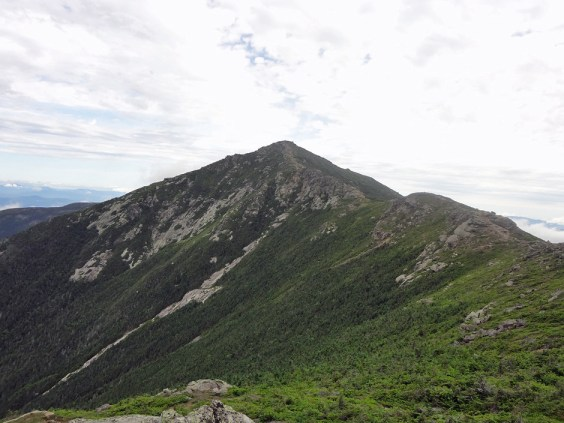 New Hampshire Appalachian Trail hike approach of Mt. Lincoln