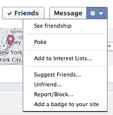 2012-12 Facebook context menu screenshot