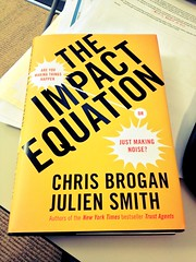 My next read - The Impact Equation