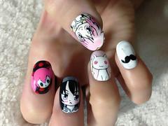"Anime Fingernails 8 • <a style=""font-size:0.8em;"" href=""http://www.flickr.com/photos/66379360@N02/8440916754/"" target=""_blank"">View on Flickr</a>"