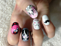 "Anime Fingernails 8 • <a style=""font-size:0.8em;"" href=""http://www.flickr.com/photos/66379360@N02/8440916754/"" target=""_blank"">View on Flickr</a>"