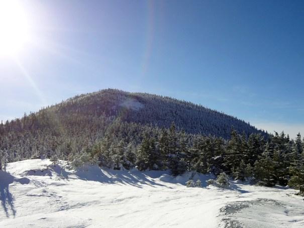 Baldpate Mountain West Peak on the Appalachian Trail