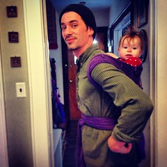 Babywearing dads are hot