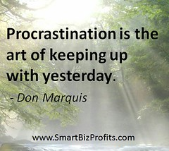 Inspirational Quotes Procrastination Don Marquis
