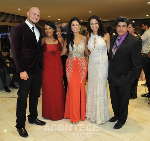 Com Mario Ana Roque, Lurdinha Costanza e Edilane Piedra