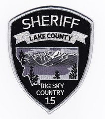 MT - Lake County Sheriff's Office Subdued