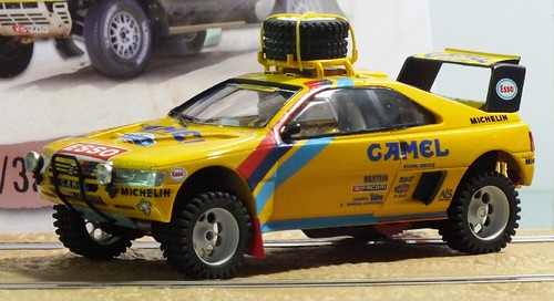 MSC Competition Peugeot Paris Dakar winner 1987