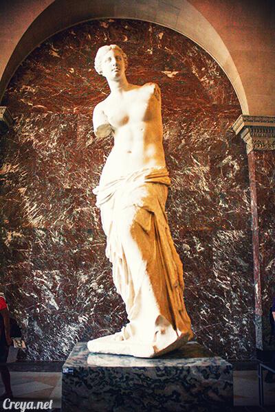 2016.09.04   看我的歐行腿  法國巴黎羅浮宮,金屋藏嬌裡的那抹淺淺微笑 11