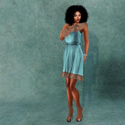 Dinah & the Beautiful Blue