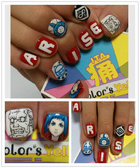 """Arise Nails 1 • <a style=""""font-size:0.8em;"""" href=""""http://www.flickr.com/photos/66379360@N02/8479407795/"""" target=""""_blank"""">View on Flickr</a>"""