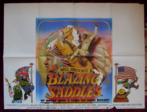 Image result for Blazing Saddles quad poster