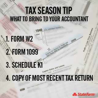 Tax Season Tip: What to Bring to Your Accountant