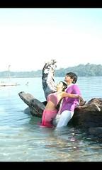 South actress Madhu Chanda Photos Set-1-Hot In Saree (11)
