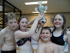 Team Piet Hein Winnaars schoolzwemkampioenschap Amsterdam Oost  2013