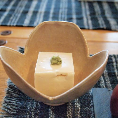 豆乳胡麻豆腐1