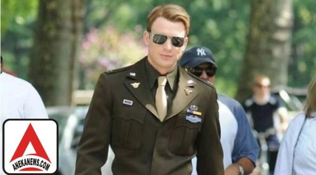 #Gosip Top :Chris Evans Bakal Pensiun Perankan Captain America?