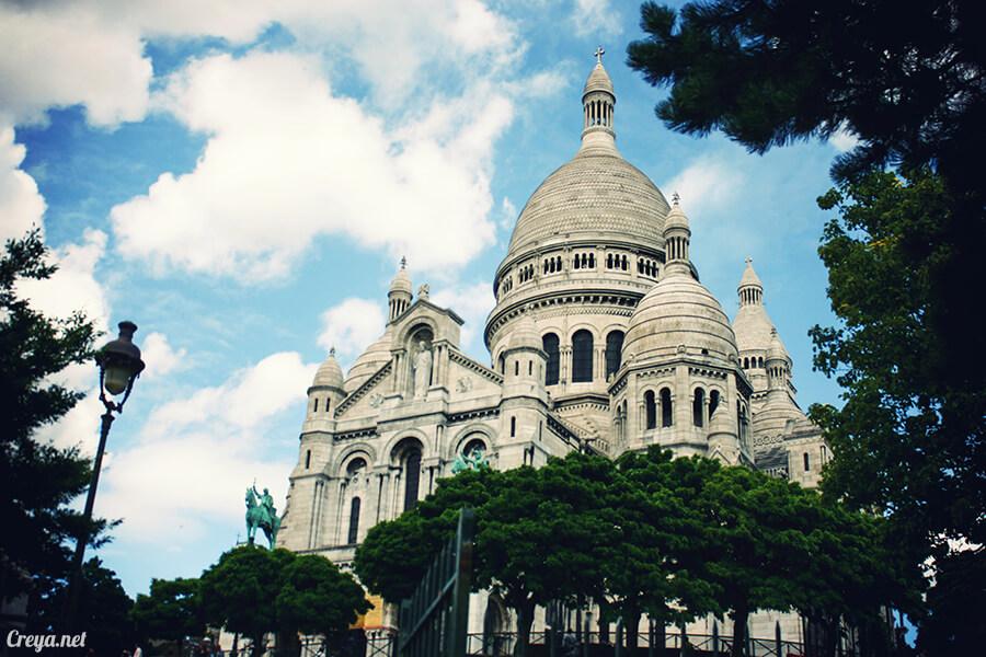 2016.10.02   看我的歐行腿  法國巴黎一日雙聖,在聖心堂與聖母院看見巴黎人的兩樣情 07
