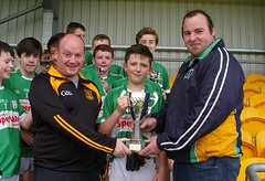 Presentation Fintona Winning Captain