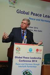 Global Peace Leadership Conference India 2014 Jim Flynn