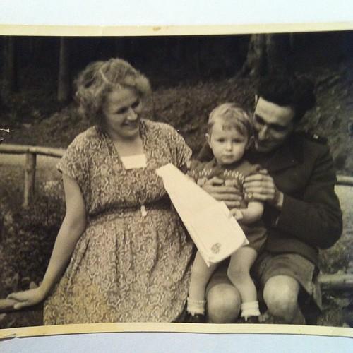 Oma, Papa & Opa Juni #1951 #FamilieD