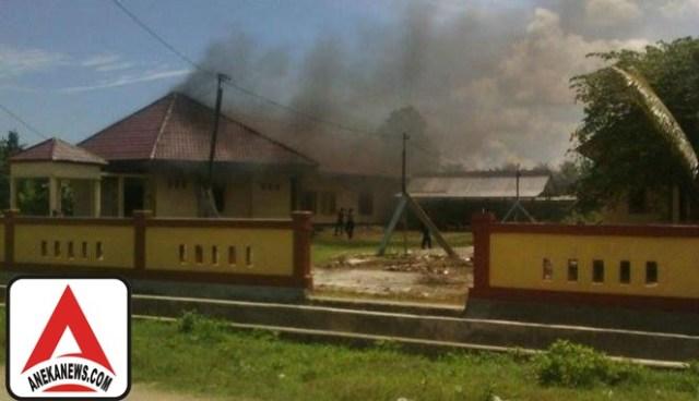 #Terkini: Kantor-kantor Pemkab Maluku Tengah Dilempari Orang