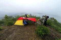 Tenda di Pos 2 Gunung Batu