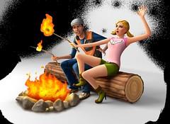 Les Sims 4 Destination nature render