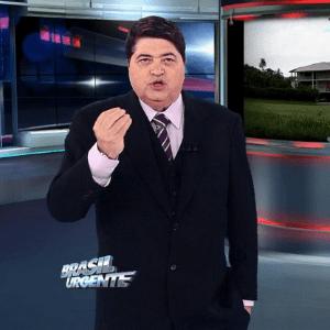 """Datena rebate crítica de Aguinaldo Silva: """"Palhaço que escreve sacanagem"""""""
