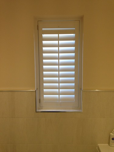 Small Bathroom Shutter, Colchester