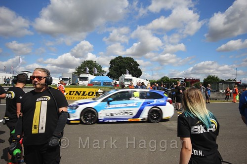 Jason Plato's car during the Grid Walks at the BTCC 2016 Weekend at Snetterton