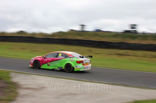 Michael Caine during BTCC race one at Knockhill Weekend 2016