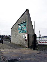 """Scottish Maritime Museum, Harbour Street Entrance (2003) • <a style=""""font-size:0.8em;"""" href=""""http://www.flickr.com/photos/36664261@N05/16631085045/"""" target=""""_blank"""">View on Flickr</a>"""